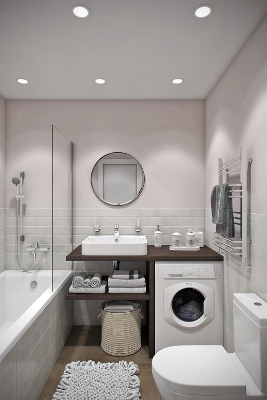 idea for washing machine but enclose with cabinet doors