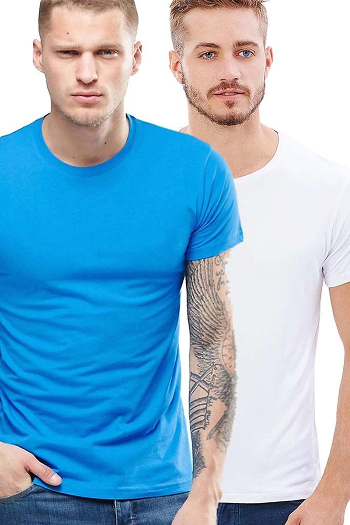 Mensfashions offers high quality casual T Shirts for men in the widest variety which makes it easy to choose at best price. Half Sleeve Casual T shirts are made of cotton fabric keeps you comfortable throughout the day.Combine the Regular fit T shirts with Jeans or chinos to complete your look.