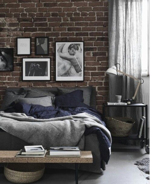 25+ Best Ideas About Exposed Brick Bedroom On Pinterest