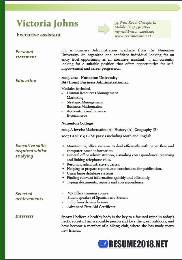 Executive Assistant Resume Example Luxury Executive Assistant Resume Examples 2018 Administrative Assistant Resume Cover Letter For Resume Executive Assistant