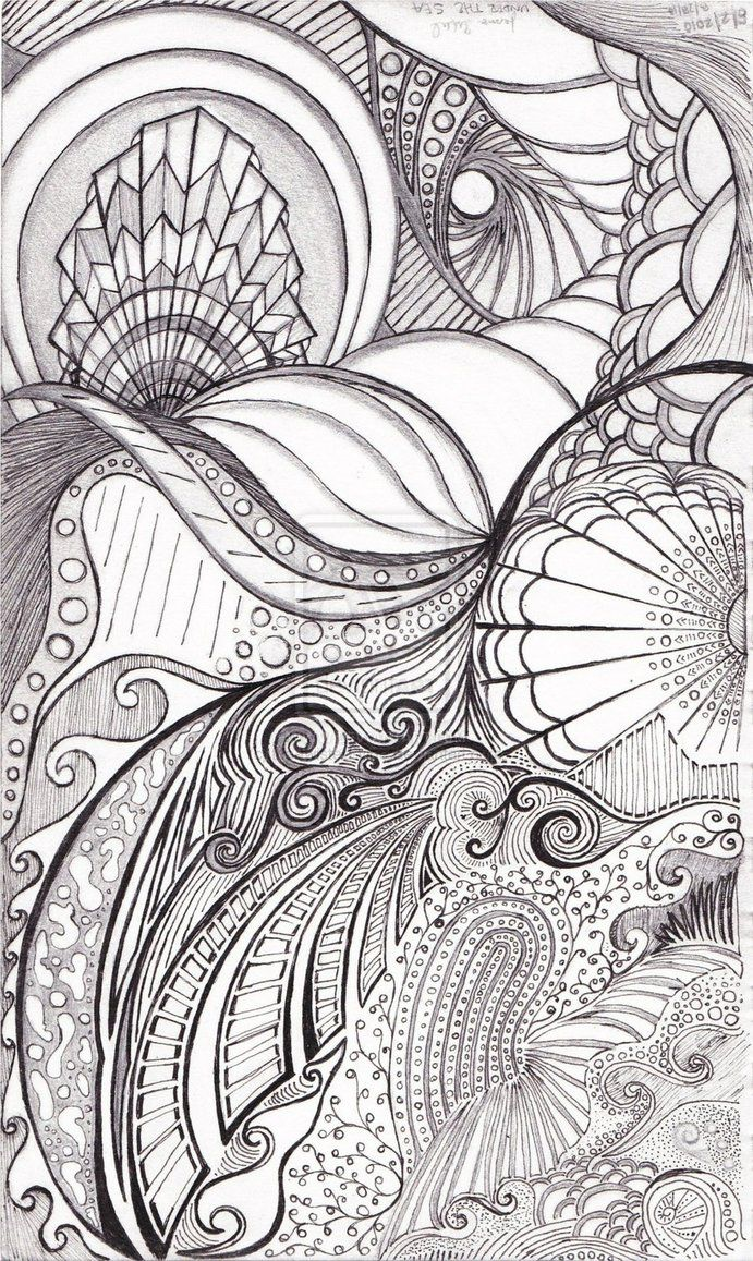 Under the sea coloring book for adults - Under The Sea By The Twisted Vine On Deviantart