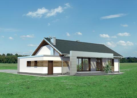 Projekt domu Linus