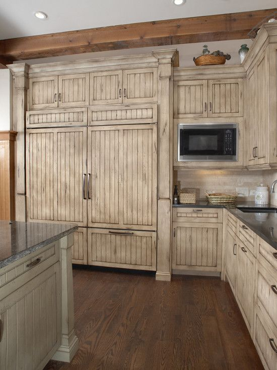 178 best awesome refrigerators images on pinterest for Beautiful built in kitchens