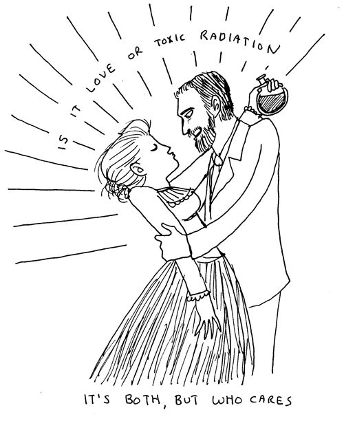 The Curies knew hot, dangerous science love!