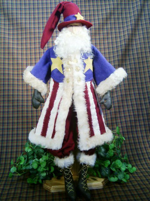 A personal favorite from my Etsy shop https://www.etsy.com/listing/163268368/cloth-doll-e-pattern-25in-patriotic-july