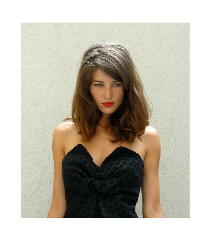 love the hair and lips...: Red Lipsticks, Medium Length, Medium Haircuts, Hair Styles, Color, Hairstyle Heaven, Hair And Makeup, Clothes Hair Style