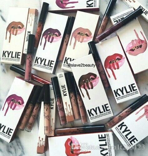 28 All Colorkylie Jenner Lip Kit Liner Kylie Lipliner Pencil Velvetine Liquid Matte Lipstick In Red Velvet Makeup Lip Gloss Make Up Colorful Lip Plumper Lipstick From Zhoupengwei98, $2.52| Dhgate.Com
