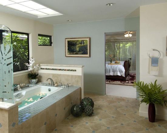21 best Tropical bathroom images on Pinterest   Tropical bathroom ...