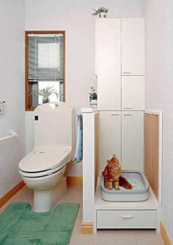 66 best images about clever litter boxes on pinterest cats litter box covers and hidden. Black Bedroom Furniture Sets. Home Design Ideas