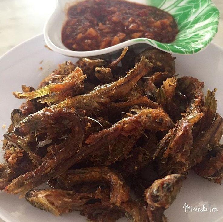 Seluang Fish Fried - Local fish menu in Palembang