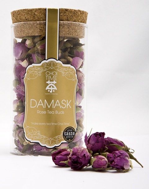 What better Valentine's gift than something uplifting and beautiful - Damask Rose Tea buds