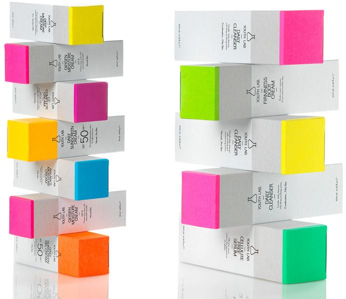 Packaging / Youth lab cosmetics | mousegraphics