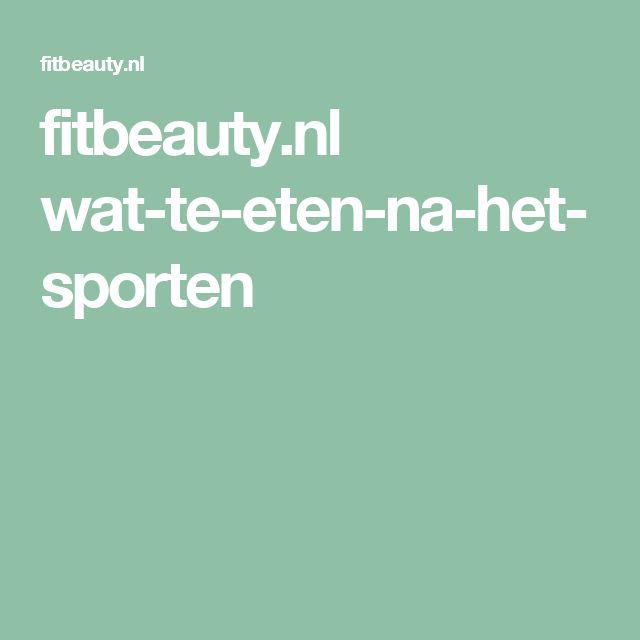 fitbeauty.nl wat-te-eten-na-het-sporten