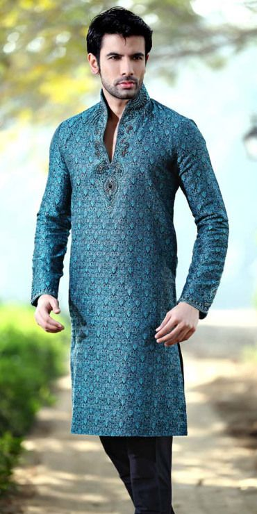 Photos for Men Engagement And Party Wear Kurta Pyjama Engagement and Party are thought to be rocking and the most memorable. So, everyone tries to be looked different, attractive, and cool. Men, pa…