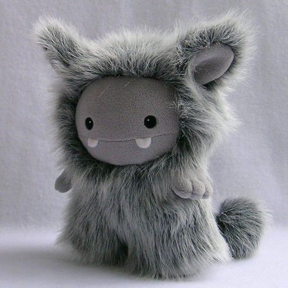 Grey Frost Monster Plush Toy