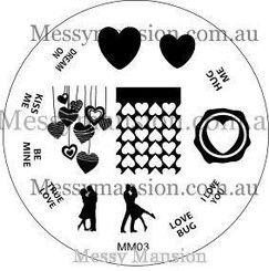 Image Plate MM03 $7.00