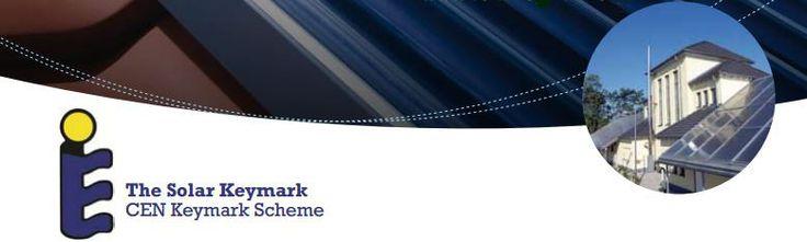 Solar Keymark – značka kvality solárních tepelných kolektorů Jedná se o dobrovolnou certifikační značku solárních tepelných kolektorů, která je pro koncového uživatele důkazem, že je daný solární výrobek ve shodě s příslušnými euro normami a plně splňuje další na něj kladené požadavky. Certifikaci vykonává nezávislá třetí strana. Značka Solar Keymark se používá v Evropě a je čím dál více uznávaná po celém světě.
