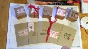 FK Virtual Class - Virtual Class 001 Valentines Day Cards and Boxes -