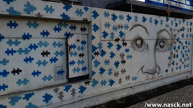Graffiti fotografado no Largo do Campo Grande - Salvador/Bahia