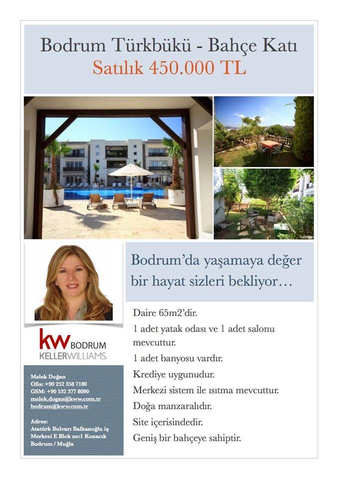 """Bodrum'un en gözde yerlerinden biri olan Türkbükü'nde muhteşem bir sitede bahçe katı dairemiz satılıktır... Denize yakın doğanın içinde olan dairemiz çok kullanışlı bir mimariye sahiptir.Masmavi havuzu, bakımlı peyzajı ve evlerin bazı kısımlarında yer alan """"Bodrum Taş Ev"""" esintileriyle Bodrum'u Bodrum gibi yaşayacaksınız... #bodrumbodrum #kellerwilliams #kellerwilliamsbodrum #gayrimenkul #yatırım"""