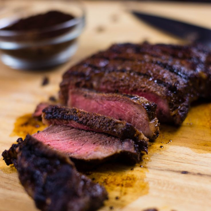 grilled coffee rubbed steak coffee comp coffee 1 recipes and food ...