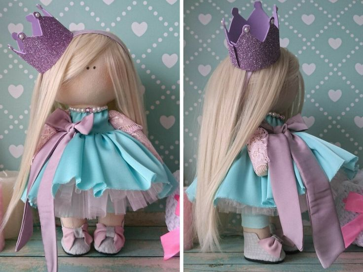 Princess doll Fabric doll Handmade doll от AnnKirillartPlace