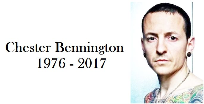 no words. so heartbroken. RIP Chester Bennington
