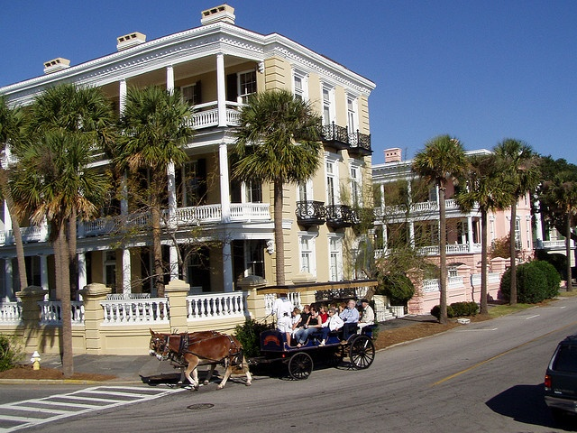 Antebellum homes along the Battery - Charleston, SC by twiga_swala, via Flickr