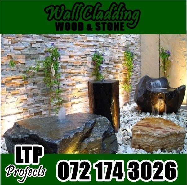 """Tired of that old boring wall! Why not contact LTP Projects PTA to make your old wall a new feature? Call us on 072 174 3026 or Chat with us on our Facebook page. Don't forget to """"LIKE"""" our Facebook page. Where you can really find some great ideas for your home!"""