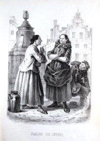 """""""Sqaller och Okynne"""" av Carl Andreas Dahlström, Stockholm, 1855."""