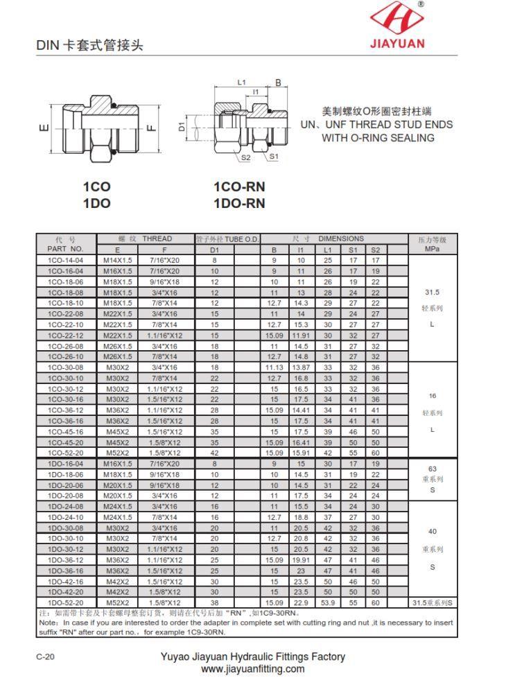 China custom metric male sae orb elbow fittings