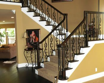 Best Stair Case Stairs And Iron Balusters On Pinterest 400 x 300