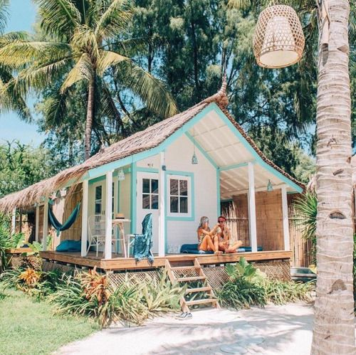 Small House On The Beach: 254 Best Images About Tropical Beach Bungalow Design On