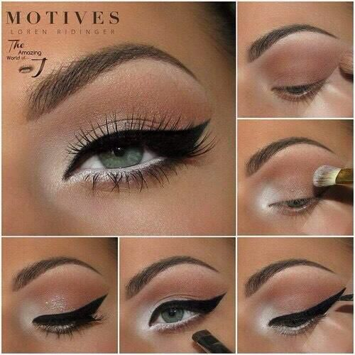 Easy Eye Makeup Tutorials!!!! #Beauty #Musely #Tip