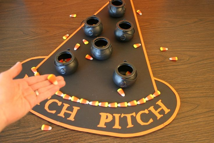 Witch Pitch - Halloween party game