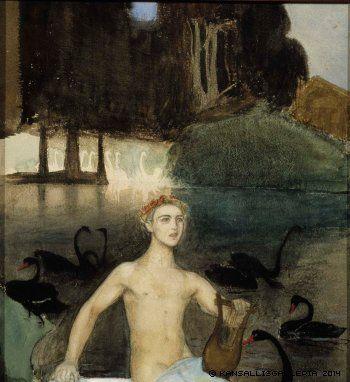 Enckell, Magnus Fantasia, 1895