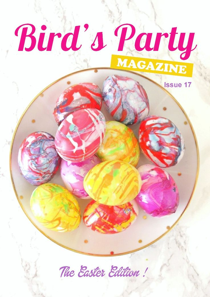 Party ideas magazine with lots of inspiration on Easter and seasonal events, celebrations , recipes and DIY crafts! via BirdsParty.com @BirdsParty