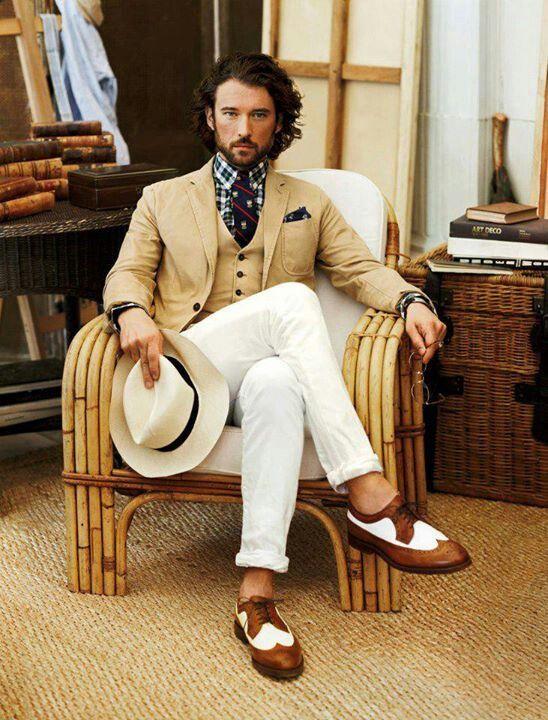 men's fashion-- very suave