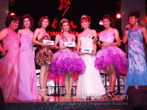 Miss Tiffany Universe 2009 Sexy Lady-Boy Beauty Contest | Thailand Medical Tourism Health and Fitness Travel Tour Blog