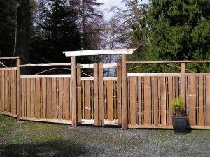 Short Cedar Fence Google Search Fence Cedar Fence