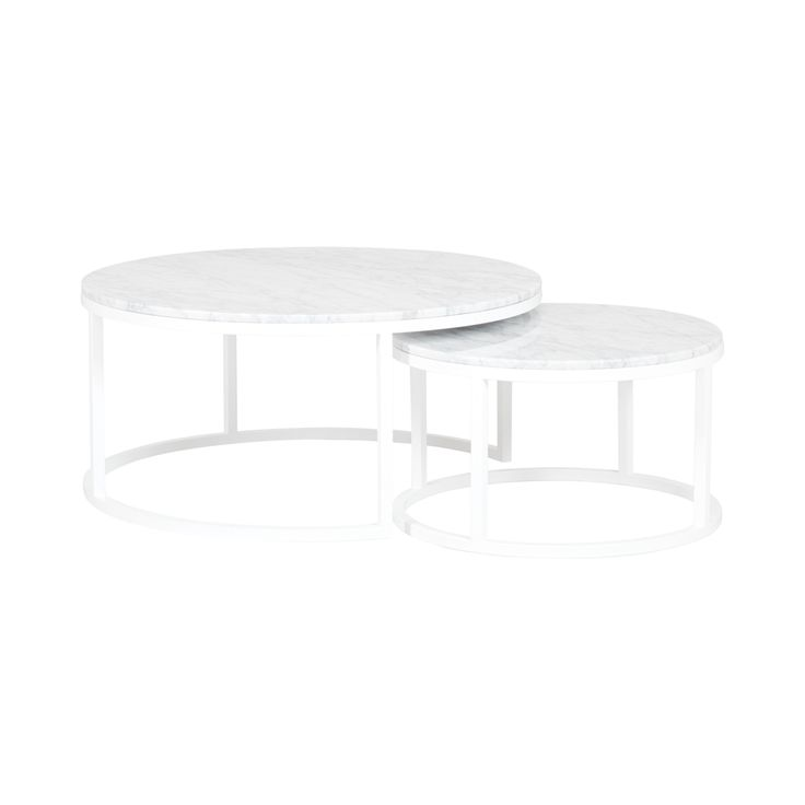 The London Nesting Coffee Tables are designed with Italian Carrara Marble  and black powder coated steel frames 667 best Coffee   Side Tables images on Pinterest   Side tables  . Living Tables London. Home Design Ideas