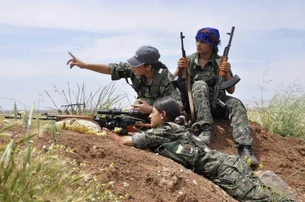 SYRIA and IRAQ NEWS: ‪#‎Rojava‬ Update 191: Kurdish YPG Kills Hundreds of Islamic State Jihadists in Tal Abyad Battles And 13 More in Sniper Operation on Jarablous. *For More #Iraq and #Syria News ...* http://www.petercliffordonline.com/syria-and-iraq-news PIC: YPJ Female Fighters training Near Qamishli: