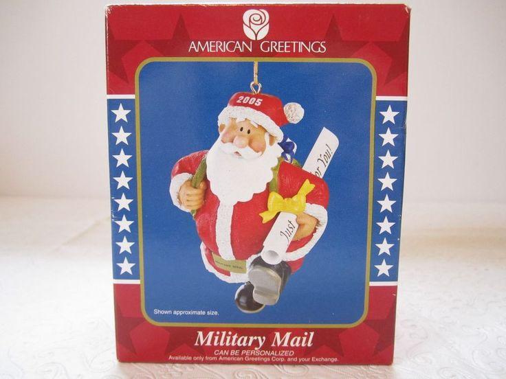 Superb American Greeting Christmas Ornaments Part - 3: American Greetings Christmas Ornament Military Mail Operation Santa Claus  2005