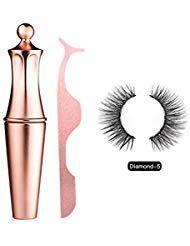 Bulary Magnetic Eyeliner Magnetic Eyelashes Kit Wasserdichter Langlebiger Eyelin