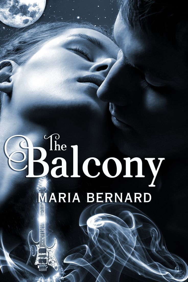 Book Cover by Chloe Belle Arts for The Balcony by Maria Bernard. Rockstar Romance with a Paranormal Twist.