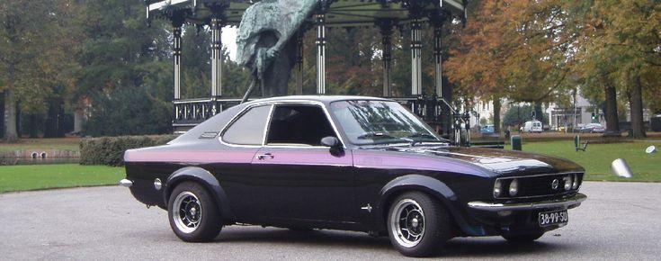1974 Opel Manta Rally