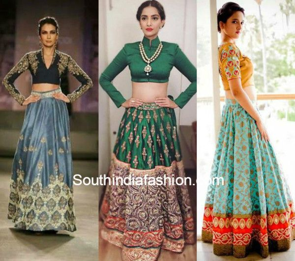 cf8949d05a Wedding Trend - The Crop Top & Lehenga! | Beauty lies in the eyes of ...