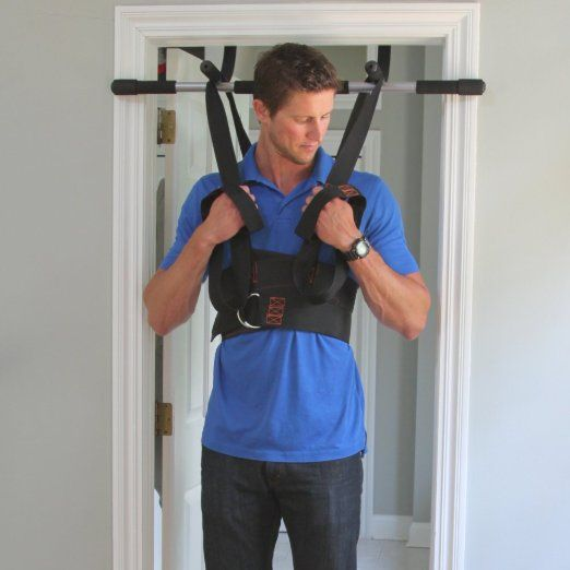 Sit and Decompress   The Ultimate Low Back Stretch and Decompression - Increase your disc space by 20% instantly while in use. (Harness Only)