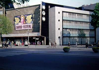 BERLIN, 1956-1977, mein geliebtes MGM-Kino (Metro-Goldwyn-Meyer) am Kurfürstendamm 197-198