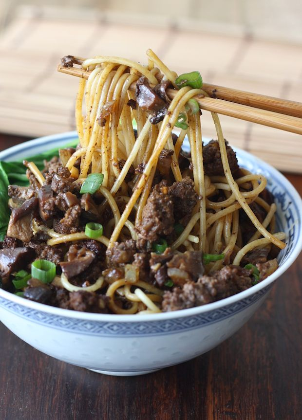 Taiwanese Minced Meat Noodles by SeasonWithSpice.com @Season with Spice - an Asian Spice Shop